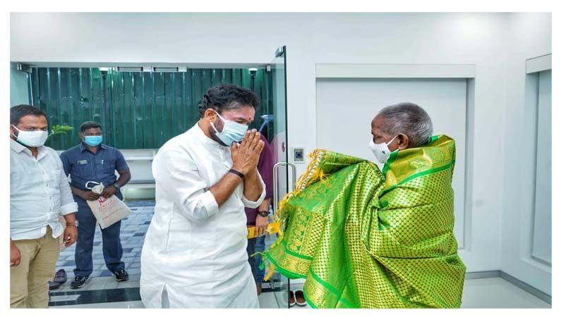 Union Minister Kishan Reddy Meets Musician Ilaiyaraaja