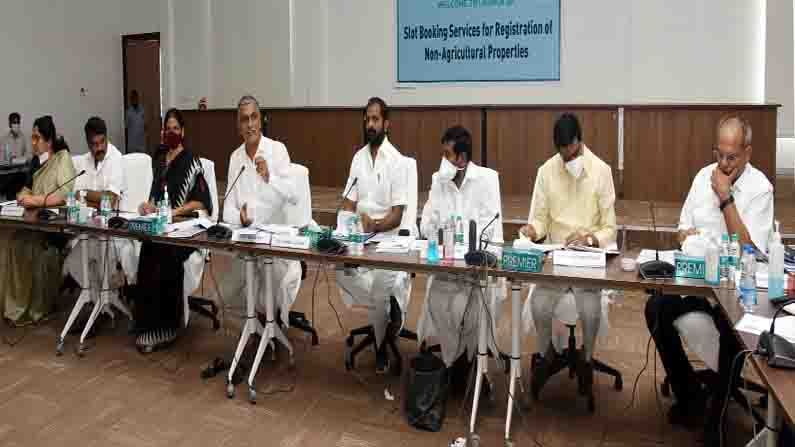 Harish Rao Holds Cabinet Sub Committee Review Meet