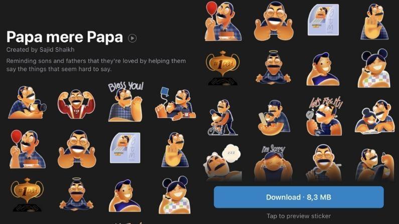 Whatsapp Launches Papa Mere Papa Sticker Pack 2