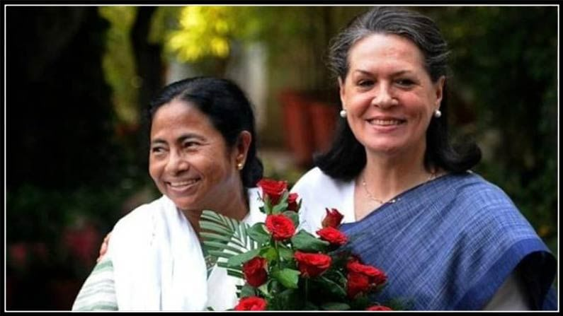 Mamata- Sonia Gandhi