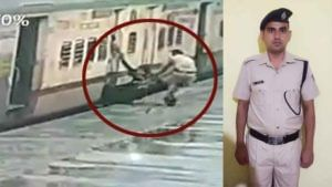 Rpf Constable Dinesh Singh Saves Woman Life