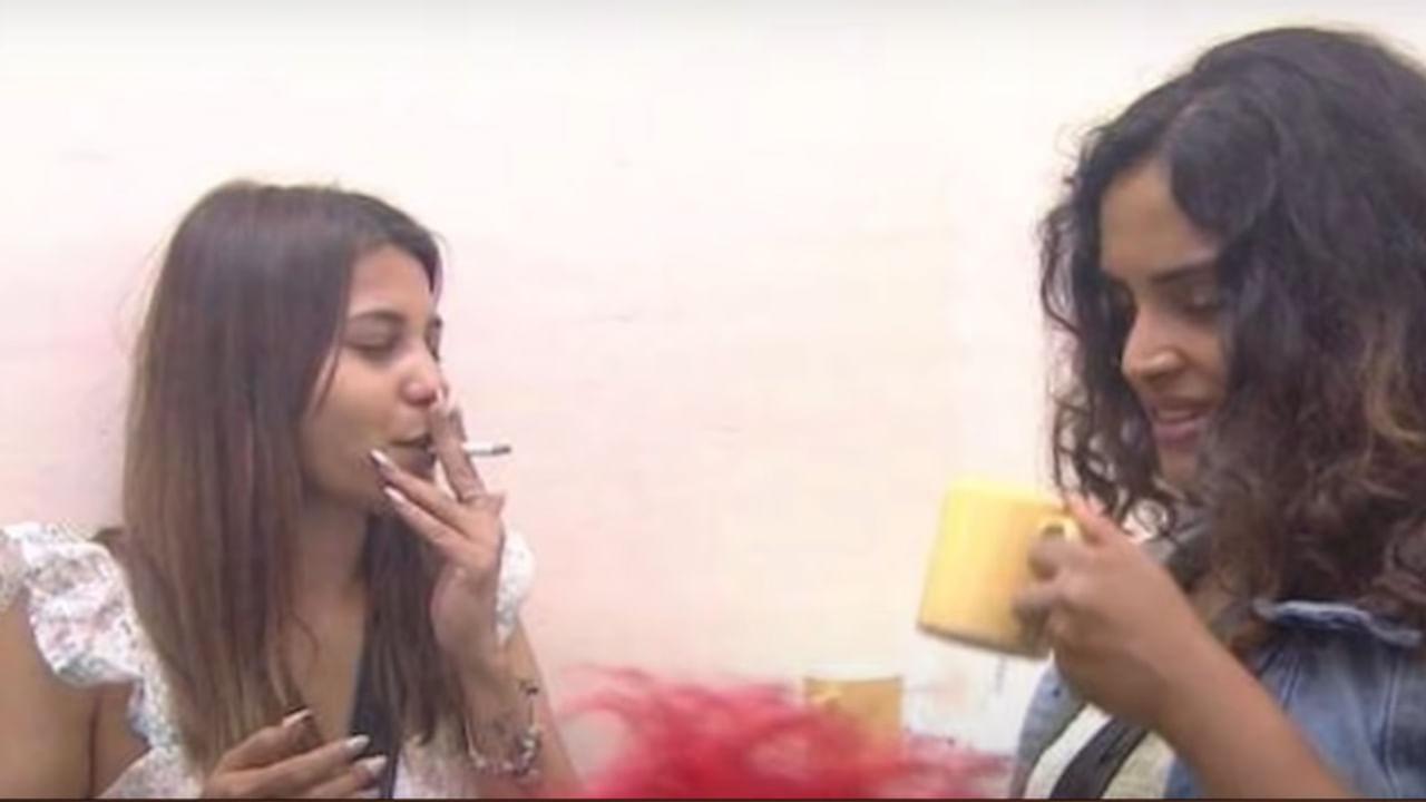 Bigg Boss 5 Telugu: బిగ్బాస్ హౌజ్లో దమ్ మారో దమ్.. సిగిరెట్ తాగుతూ  ముద్దుగుమ్మల రచ్చరచ్చ.! | BiggBoss 5 Telugu Hamida And Sarayu Smoking With  Lobo In House Video Goes Viral | TV9 Telugu